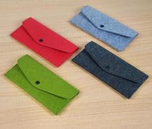 Fashionable wool felt Material bag, Small Wallet bag