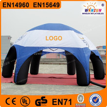 US & CE giant 12m diameter inflatable shade tents for party or event
