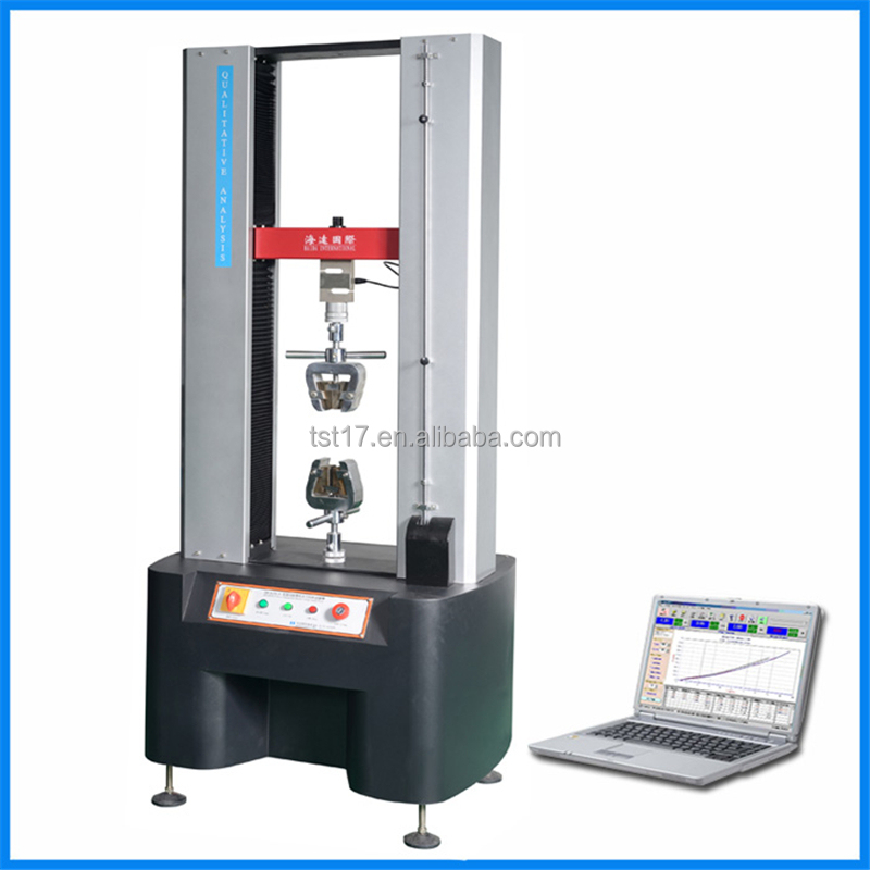Tensile Strength Testers : Electronic universal tensile tester