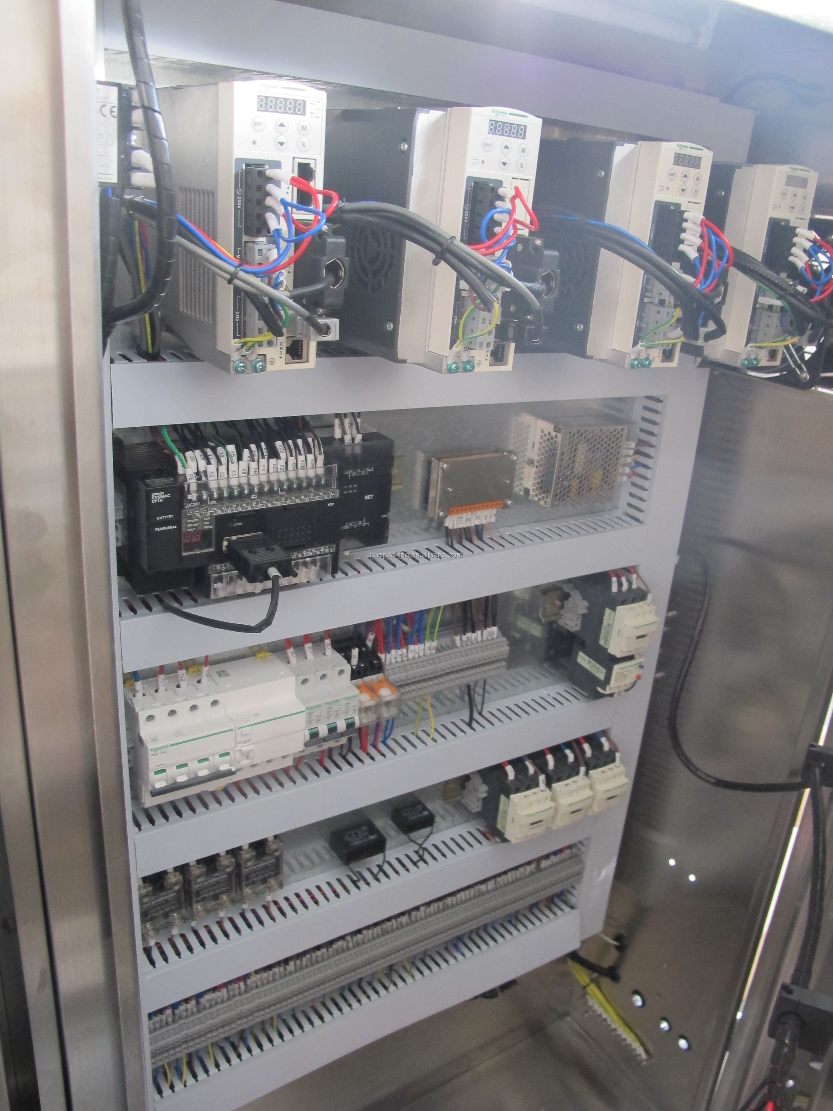 Automatic packing machine from baopack for packing sugar, beans and chips