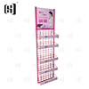 Durable body warmer pad store metal grid display rack shelf