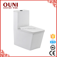 ON-2025 Luxury top rated water saving one piece ceramic toilet pots