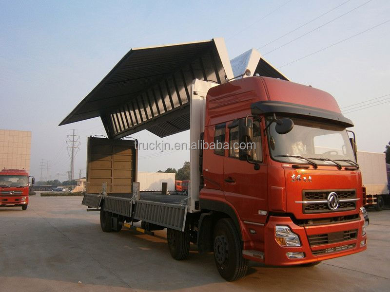 HOWO wing type van truck for sale 2016 model