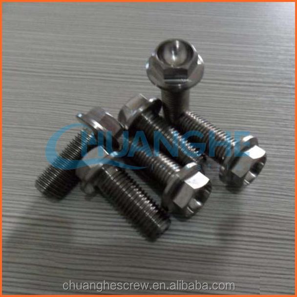 China Manufacturer Quality Products titanium bolt with ball