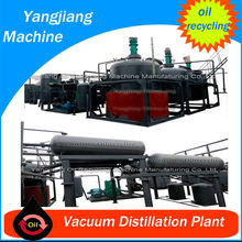 4-8 tons/day Recycled Base Oil from Used Oil Refining Vacuum Plant