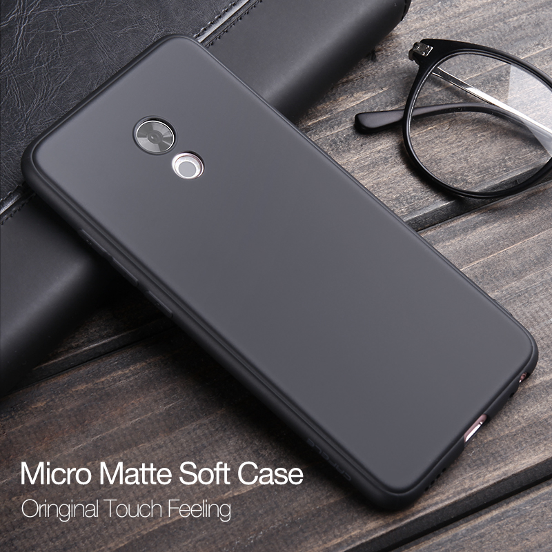 Cafele Matte TPU Phone Case For MEIZU PRO 6 / PRO 5 / MX6 / MX5 Ultra-thin 0.6mm TPU Soft Cover Black White Grey Blue Pink