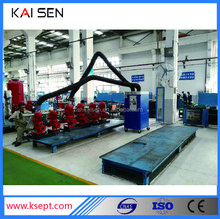 Mobile automatically cleaning TIG/MIG/MAG/GAS SHIELDED ARC welding dedusting system