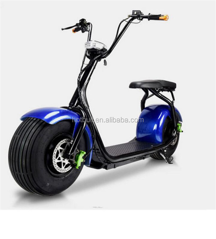 2017 hot sale 1000w citycoco harley electric scooter