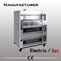 Gas Double Deck Oven Bread Bakery