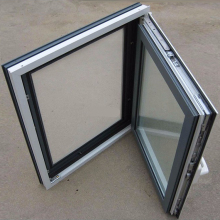 Cheap Customized Casement Window, Casement Window With Fixed Panel