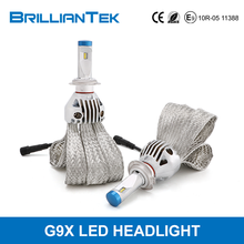 Super Bright Automotive H1 H3 H7 H8 H9 H11 9005 9006 High Power CANBUS Auto LED Car Headlight Bulbs Lamp Kit
