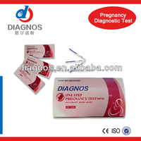 HCG Pregnancy Test CE Marked/Rapid Test Kits For Pregnancy Test baby test