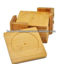 Unbreakable Bamboo/wooden cup coaster