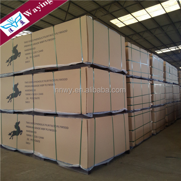 WBP glue non slip film faced plywood