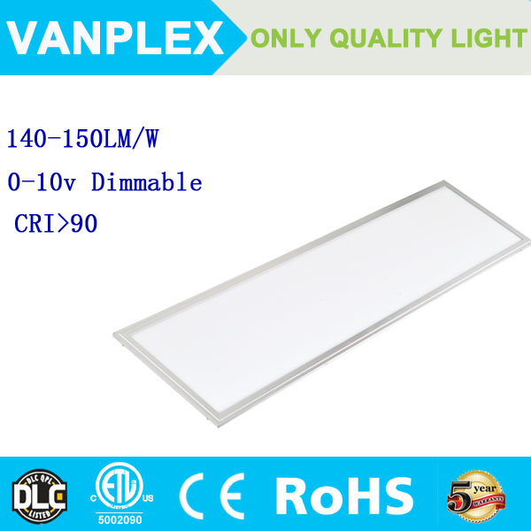 UL ETL DLC listed led panel light 2x4,70w etl led panel light with 5 years warranty