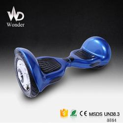 factory 10 inch smart self balancing taiwan scooter parts with MSDS UN38.3 CE certificates