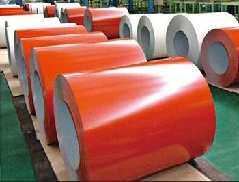 PRPT 0.35*1200mm red colour prepainted color coated roof steel sheets