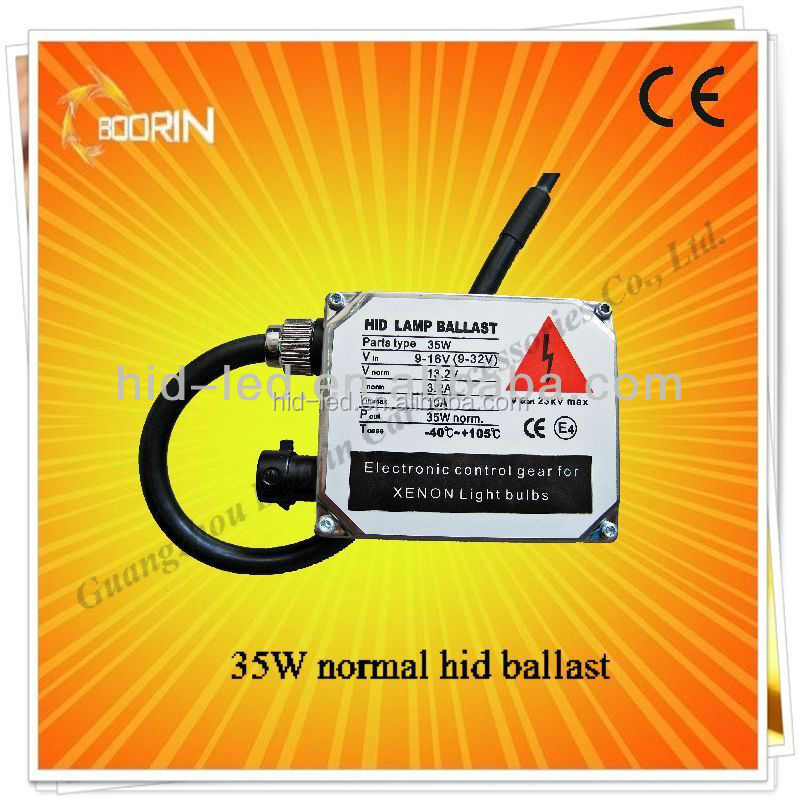 Factory direct slim f5 hid ballast fast bright in 0.1 second 55W f5 slim hid ballast