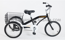 GW7013 12inch three wheel bicycle design electric three wheel bicycle single speed kids three wheel bicycle with cheap price
