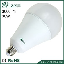 2016 new CE Rohs certification high power A120 E27 30w led bulb