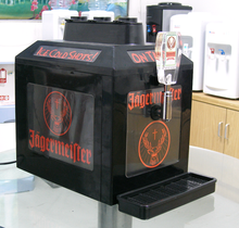 wine dispenser machine ,3 bottle liquor dispenser for Jagermeister