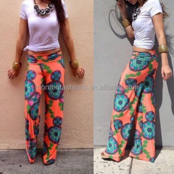monroo summer new design hot sale women all kinds of pants