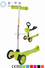 high quality kick three wheels folding kids scooter