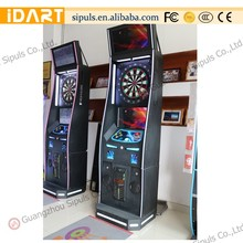 Sipuls 15.5'' target face adults gym darts dart scoring machine with dart mat