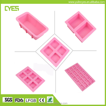 Customized 100% food grade high quality cheap price silicone soap molds with free sample