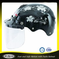CE FUSHI abs safety helmet low price motorcycle helmet
