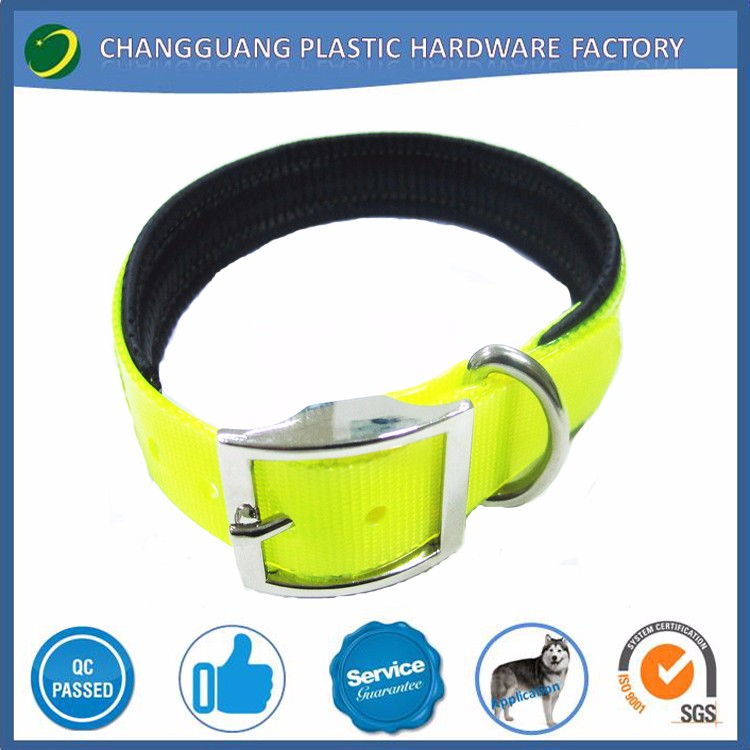 2018 Pet Collars Pet Supplies Hot Selling Neoprene & Polyester Webbing dog collar