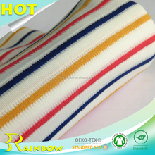 2017 Rainbow Textile Weft Stripe TR Knitting Fabric for Women