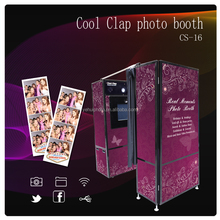 Tounch Screen Vending Photo Booth Machine with speacial effect and 3D photo