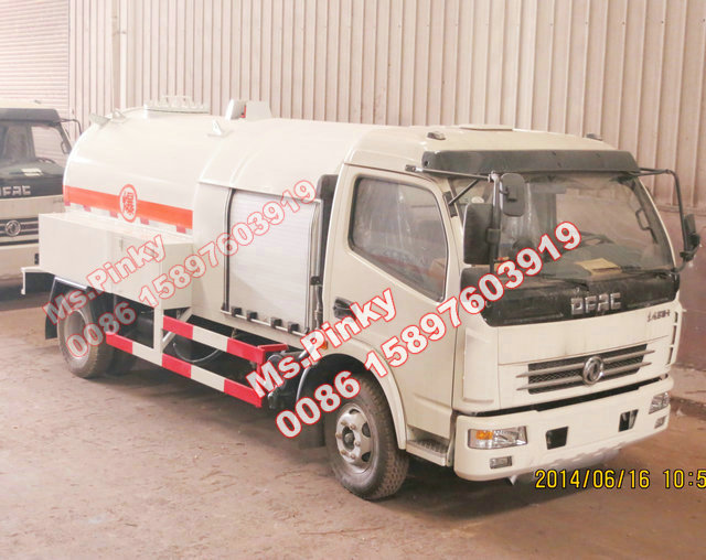 5000L -5000L Mobile LPG Gas Dispenser Truck DFAC LPG Bobtail Tanker Truck with Filling Gas Machine