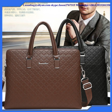 2016 Hot Sale China Classic Leather Men Laptop Bag Briefcase