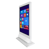 55 Inch Floor Standing Vertical Standalone LCD digital monitor display