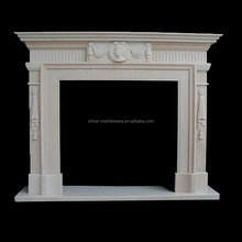 Manufacturer sale marble elegant electric fireplace