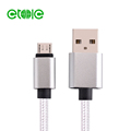 Micro USB Fast Charger Data Sync Cable Braided Cord for mobile phone