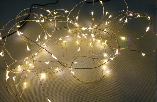 indoor outdoor low voltage copper silver wire 5V 12V 24V LED flexible string lights, View led ...