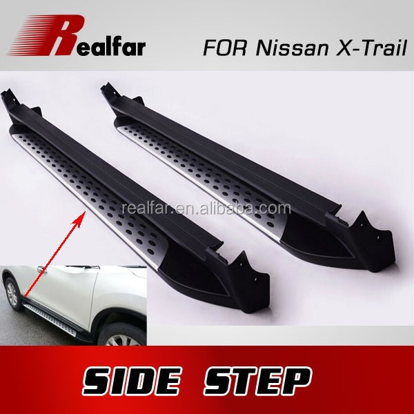 XTrail SIDE STEP FOR XTrail ACCESSORIES 2014 NEW HIGH QUALITY!