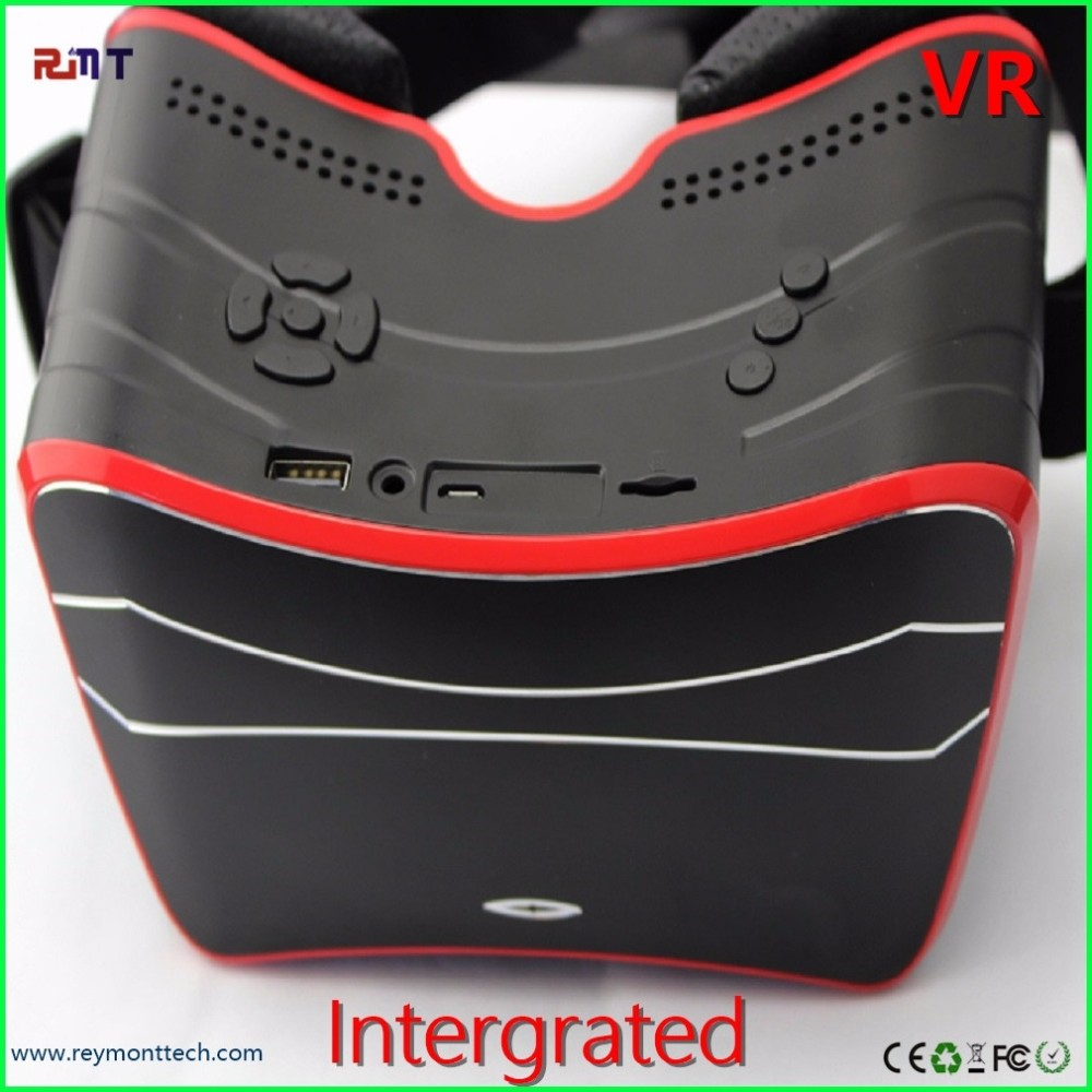 Best selling products virtual reality glasses 3d vr box 2.0 with remote orginal factory price