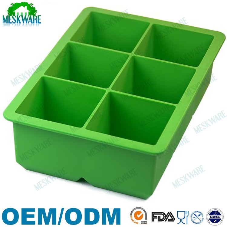 Custom design best sell summber products silicone ice tray