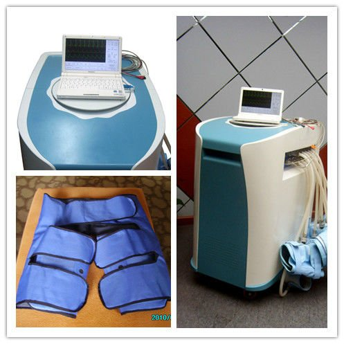 Portable EECP with ECG and pulse sensor