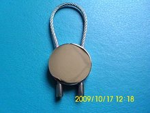Round Bungee Cord Key Chain
