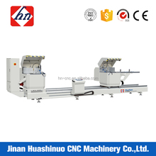 Powered Digital Display Precise Double-Head precision cutting Saw for aluminum profile window and door making machine