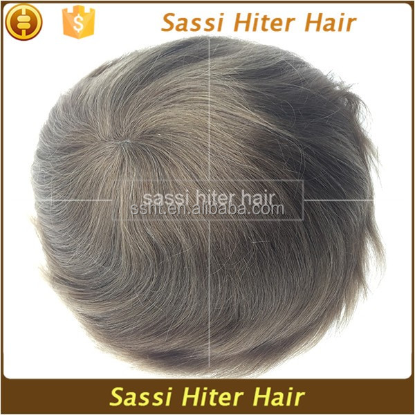 Double Drawn Top Grade Hair System Wholesale For Men