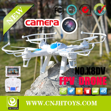 Hot new products for 2015 FPV RC DRONE X8DV 2.4GHz 4Ch 6axis Quadricopter FPV RC Quadcopter