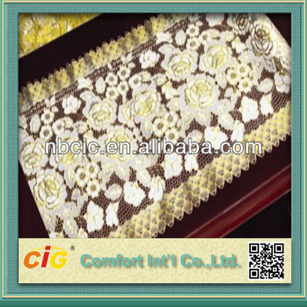 50CM Wide Gold Table Cloth Cover Linens in Rolls