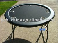 52-inch Round Folding 8 Person Poker Table