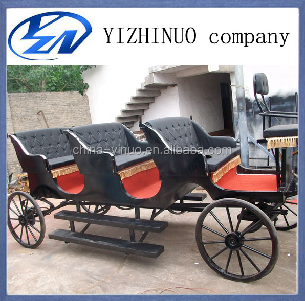 victoria horse carriage horse wagon/horse cart/used horse carriage for sale